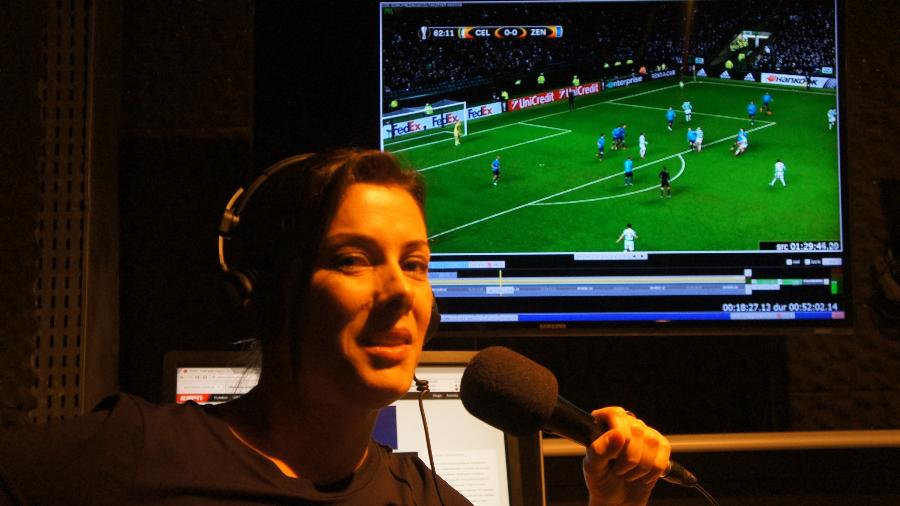 Luciana Mariano, ex-mulher de Luciano do Valle, é a nova contratada dos canais ESPN - Divulgação ESPN