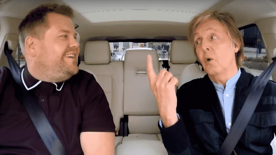 Paul McCartney no Carpool Karaoke - Reprodução
