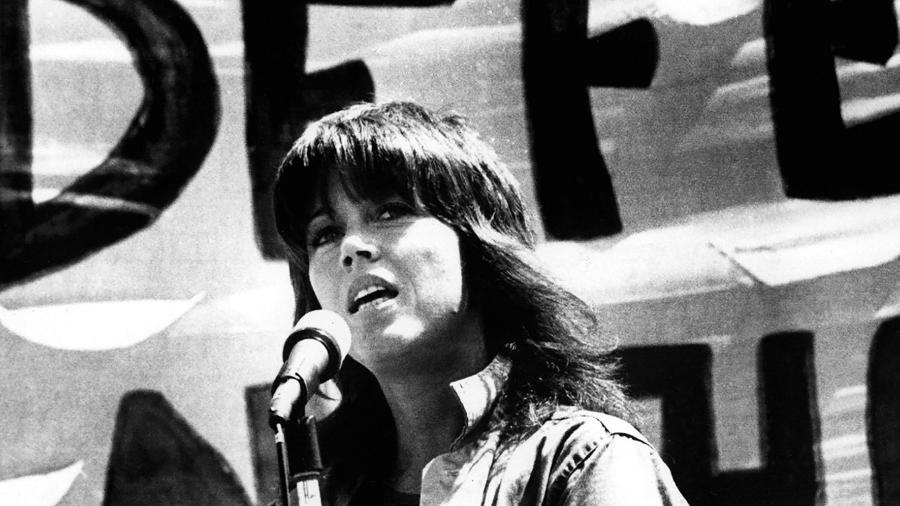 """Jane Fonda em cena do documentário """"Jane Fonda in Five Acts"""" - Reprodução"""
