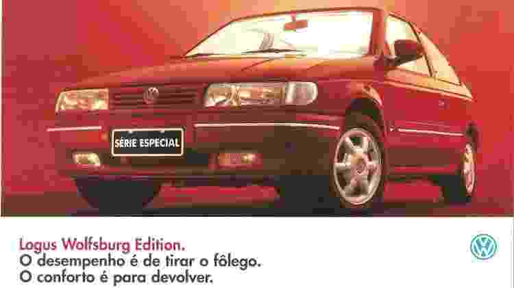"Volkswagen Logus ""Wolfsburg Edition"" - Reprodução - Reprodução"