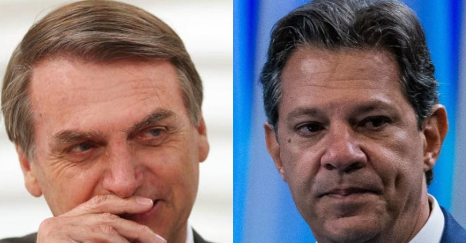 No rádio, Bolsonaro se emociona com filha; Haddad afasta PT e Lula