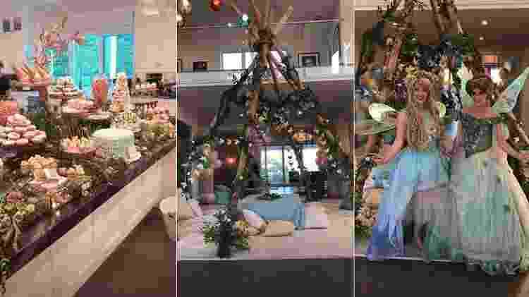 Festa de Dream Kardashian - Reprodução - Reprodução