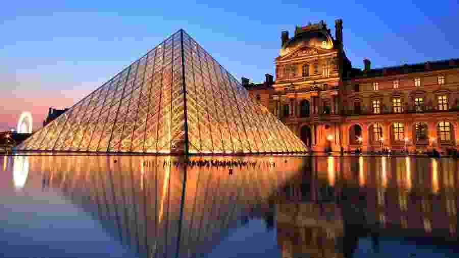 Museu do Louvre, em Paris, reabrirá em 6 de julho, assim como outros museus franceses  - Getty Images