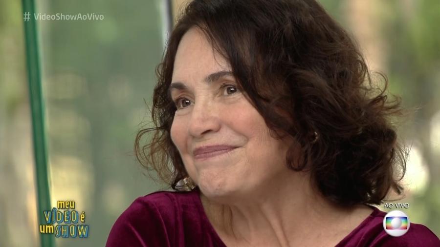 """Regina Duarte foi homenageada pelo """"Vídeo Show"""" em novembro de 2016 - Reprodução/TV Globo"""
