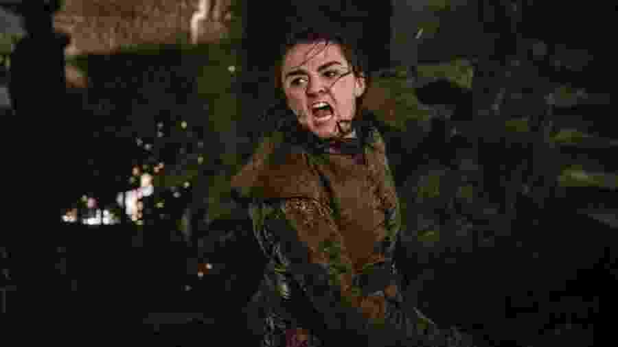 Maisie Williams, a Arya Stark de Game of Thrones - Divulgação/HBO