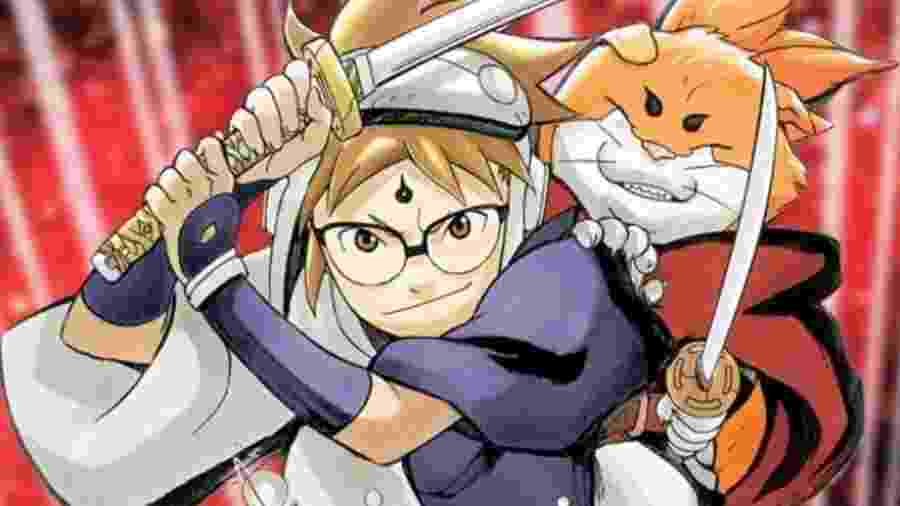 """""""Samurai 8"""", novo mangá de Masashi Kishimoto  - Reprodução"""
