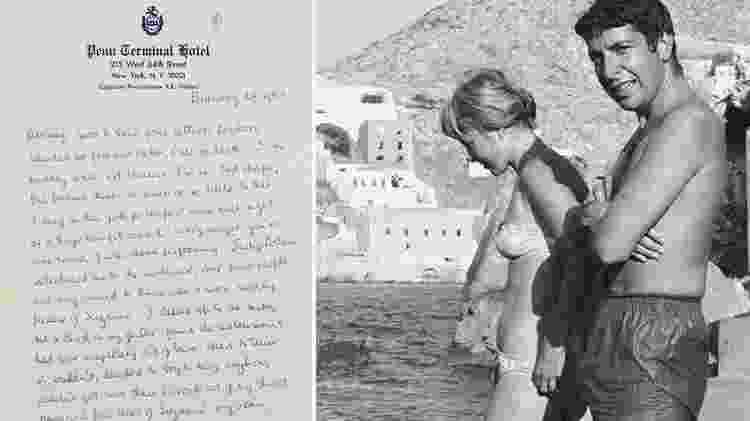 Carta de Leonard Cohen a Marianne Ihlen  - Christie?s/Reprodução