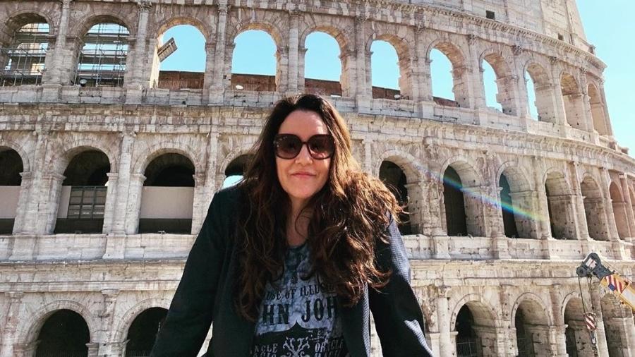 Ana Carolina de férias na Itália - Reprodução/Instagram