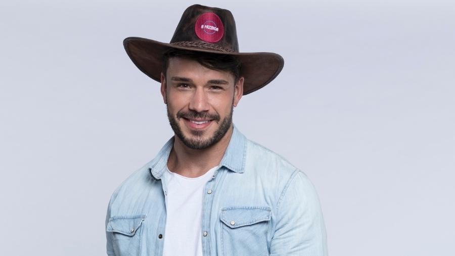 Lucas Viana é um dos participantes de A Fazenda 2019 - Divulgação/Antonio Chahestian/ Record TV