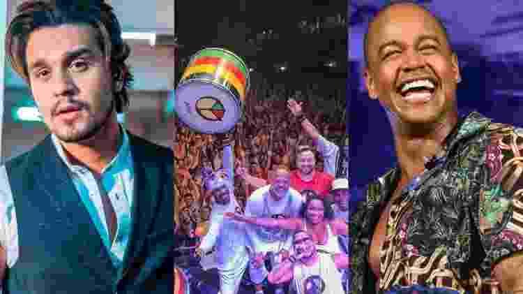 Luan Santana deu uma repaginada em 'Sofrendo Feito Um Louco' com Leo Santana e Olodum - Reprodução/Instagram