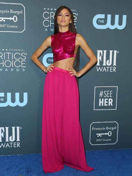 """Zendaya no Critics"""" Choice Awards 2020 - Danny Moloshok/Reuters"""