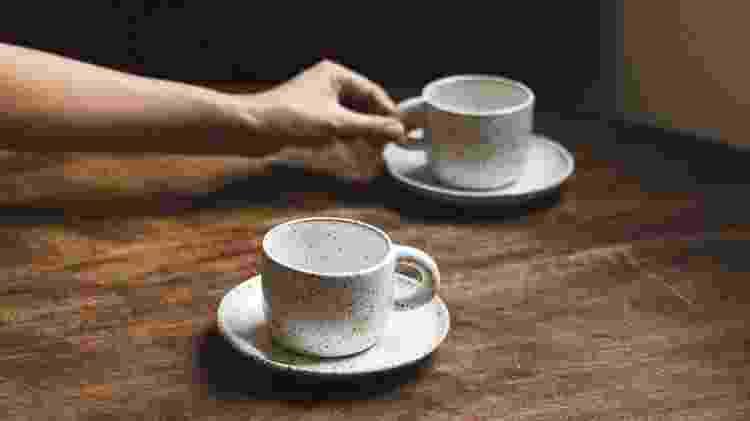Xícaras da marca Noni confeccionadas em cerâmica  - Divulgação - Divulgação