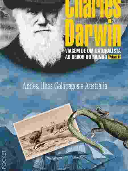"""""""Viagem de um naturalista ao redor do mundo"""", de Charles Darwin (editora L&PM) - Divulgação - Divulgação"""