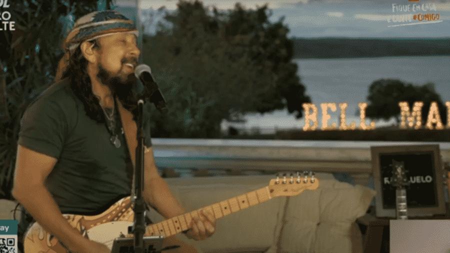 Live de Bell Marques - Reprodução / Youtube