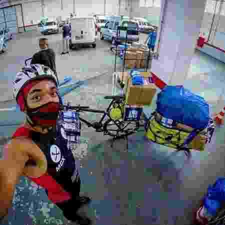 Ciclista II - Acervo pessoal - Acervo pessoal