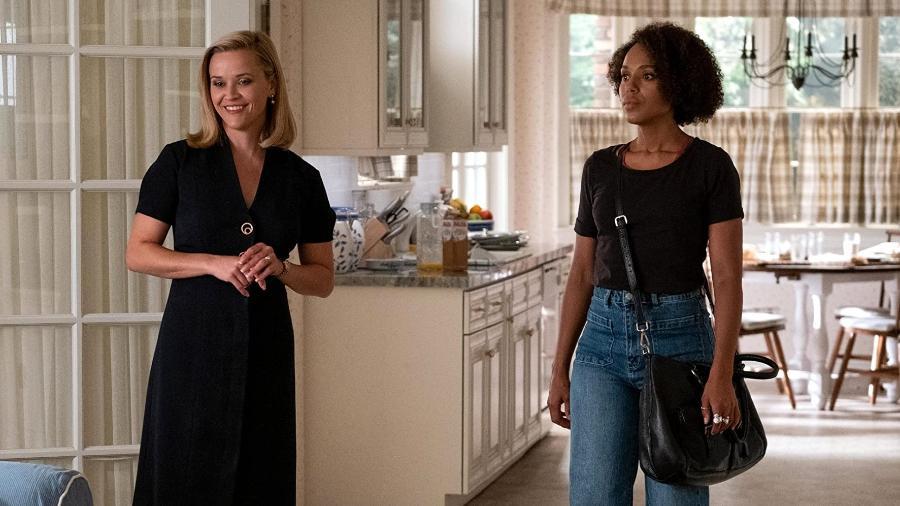 """Reese Witherspoon e Kerry Washinton em cena da série """"Little Fires Everywhere"""" - Divulgação"""