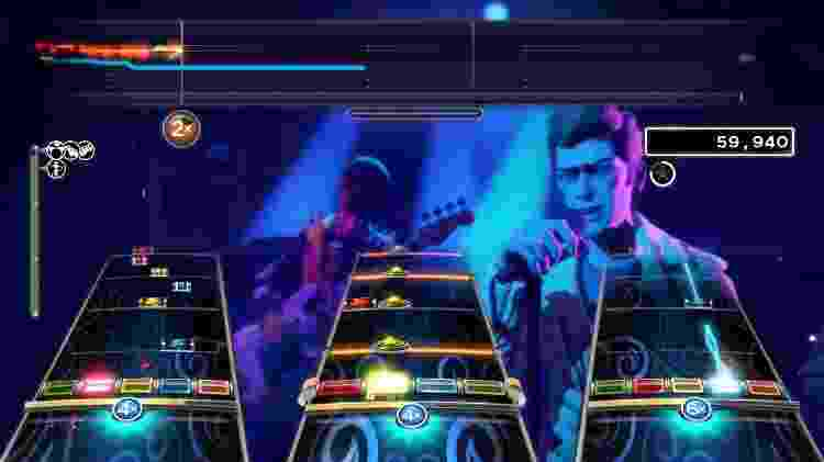 Rock Band 4 Gameplay - Divulgação/Harmonix - Divulgação/Harmonix