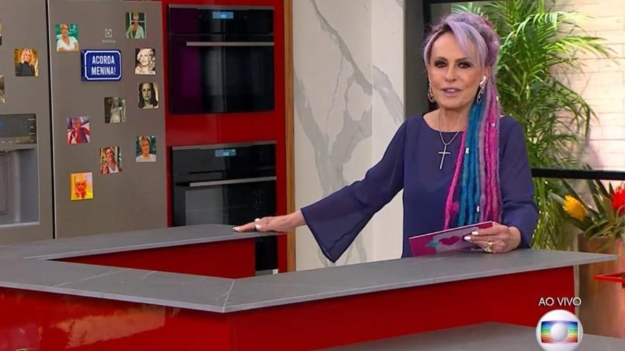 Ana Maria Braga estreou estúdio novo e já mandou recado para eliminado do BBB 21 - Reprodução/TV Globo