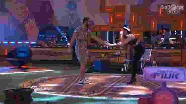 BBB 21: Gilberto e Juliette celebram participação no reality da Globo - Reprodução/Globoplay - Reprodução/Globoplay