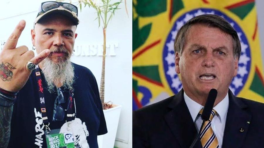 João Gordo detona Bolsonaro - Reprodução/Instagram