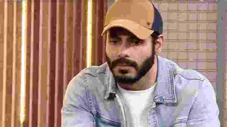 'BBB 21': Rodolffo em sua primeira entrevista após sair do reality - Reprodução/ Globoplay - Reprodução/ Globoplay