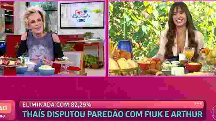 Thaís - Reprodução/TV Globo - Reprodução/TV Globo
