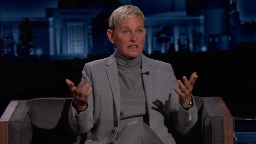 Ellen DeGeneres é entrevistada por Jimmy Kimmel - Reprodução/YouTube