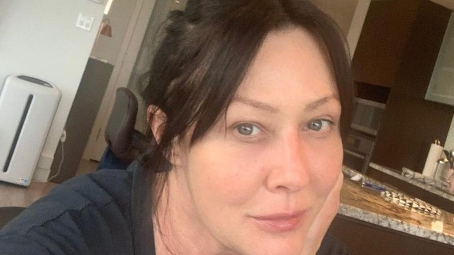 Shannen Doherty luta contra o câncer de mama desde 2015 - Instagram
