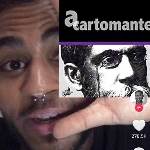 """Patrick Torres conta história de """"A Cartomante"""", de Machado de Assis, em primeira pessoa"""