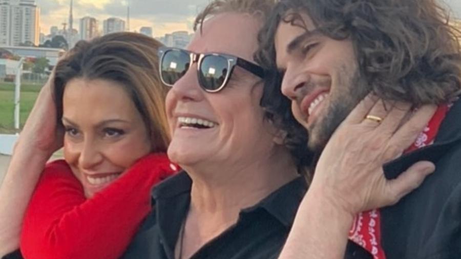 Fábio Jr. se declara para os filhos Cleo e Fiuk - Instagram