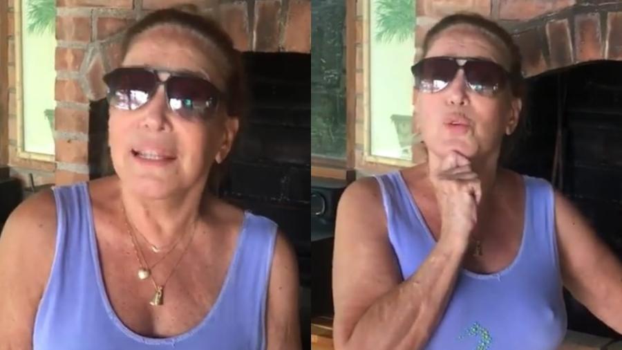 Susana Vieira ganha carnes para churrasco de André Marques e reclamada da quantidade de fraldinha recebida - Reprodução/Instagram