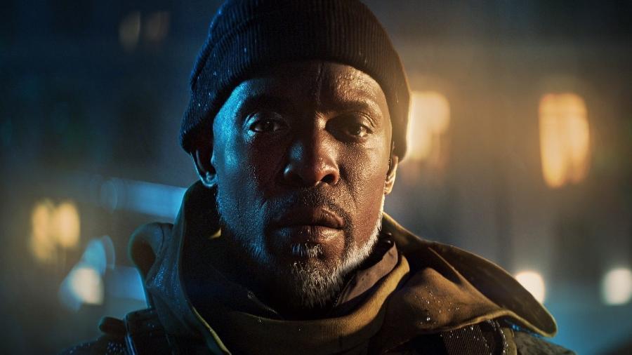 Michael K Williams como Irish em Battlefield 2042  - Reprodução/START