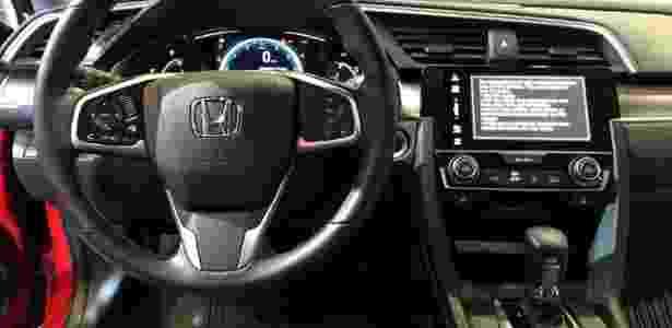 Honda Civic 2016 - André Deliberato/UOL - André Deliberato/UOL