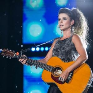 Paula lamentou não poder participar do reality musical da Band - Divulgação/TV Globo