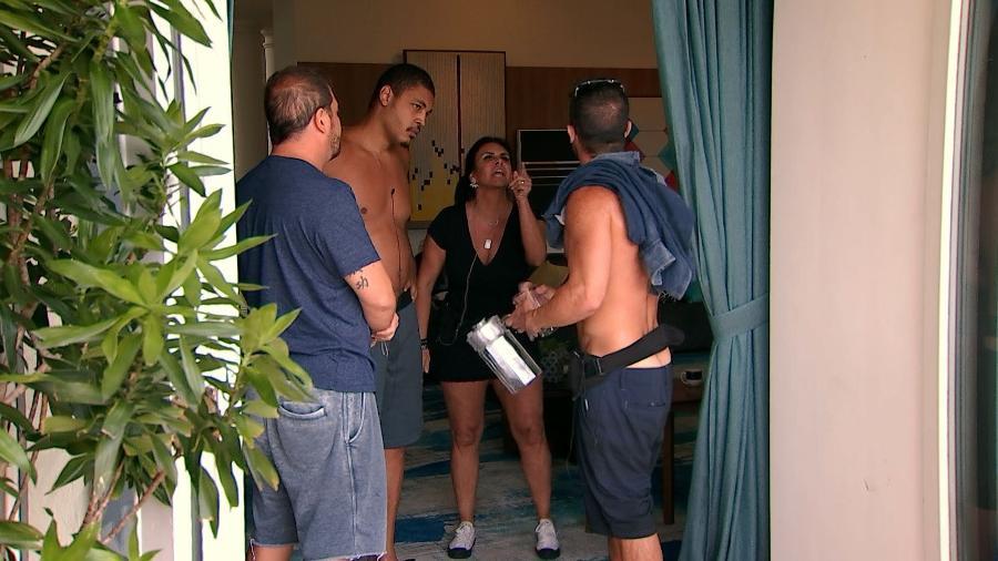 """Gretchen participou do """"Power Couple Brasil""""; reality confinou casais que tinham que apostar dinheiro entre si - Divulgação/Record"""