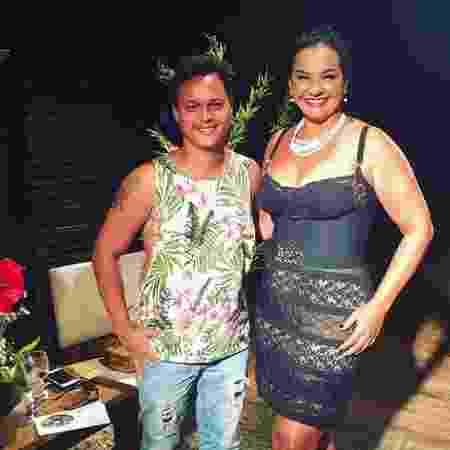 Solange Couto e Jamerson Andrade estão casados há quase dez anos - Reprodução/Instagram