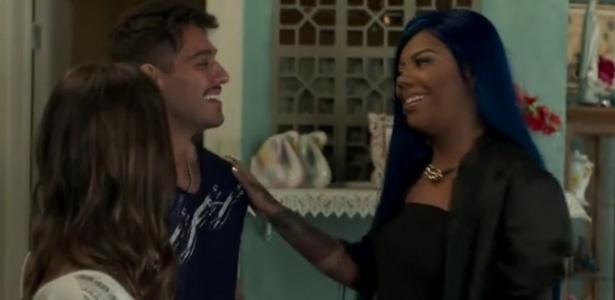 """Uodson vira segurança de Ludmilla e Alina é convidada para ser a maquiadora da cantora no último capítulo de """"Malhação"""" - Reprodução/TV Globo"""