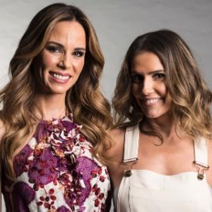 Ana Furtado e Deborah Secco gravaram campanha de fim de ano da Globo - Divulgação