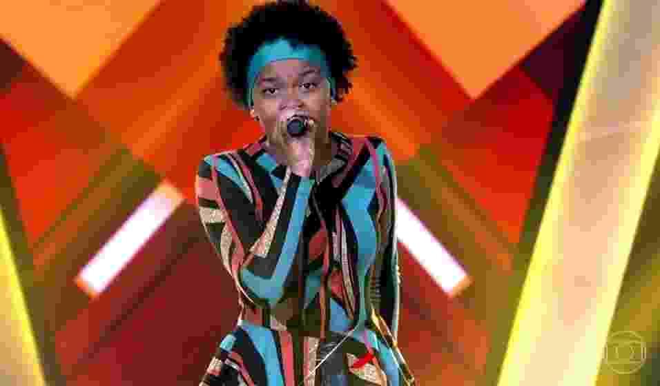 The Voice Kids - Franciele Fernandes - Reprodução/TV Globo