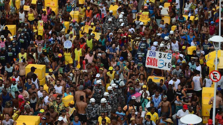 O famosos Arrastão de Salvador, na Bahia - Raphael Castello/AgNews