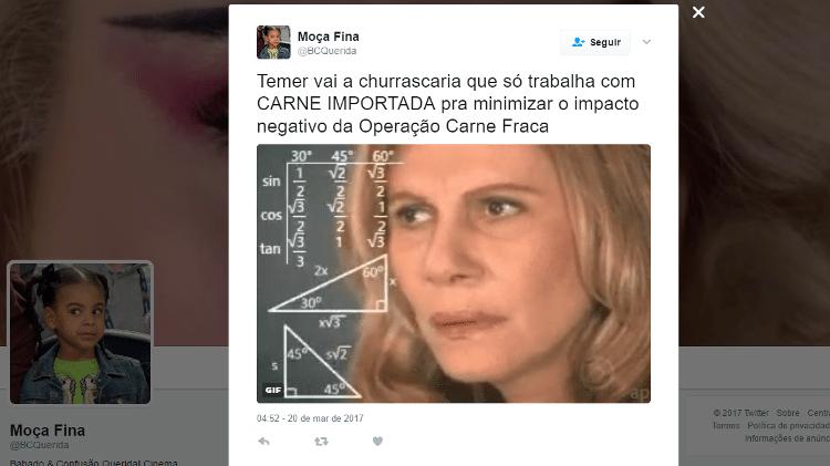 Reprodução/Twitter/BCQuerida