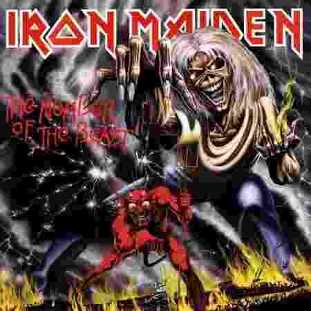 """Capa de """"The Number of The Beast"""", do Iron Maiden - Reprodução"""