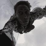 Glória Maria salta de bungee jump a 233 metros - Reprodução/TV Globo
