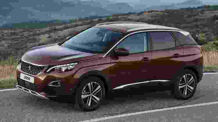 Peugeot 3008 2018 - Divulgação - Divulgação