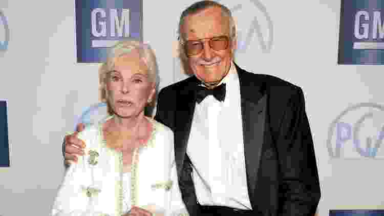 Stan Lee Joan Lee - Kevin Winter/Getty Images For PGA - Kevin Winter/Getty Images For PGA