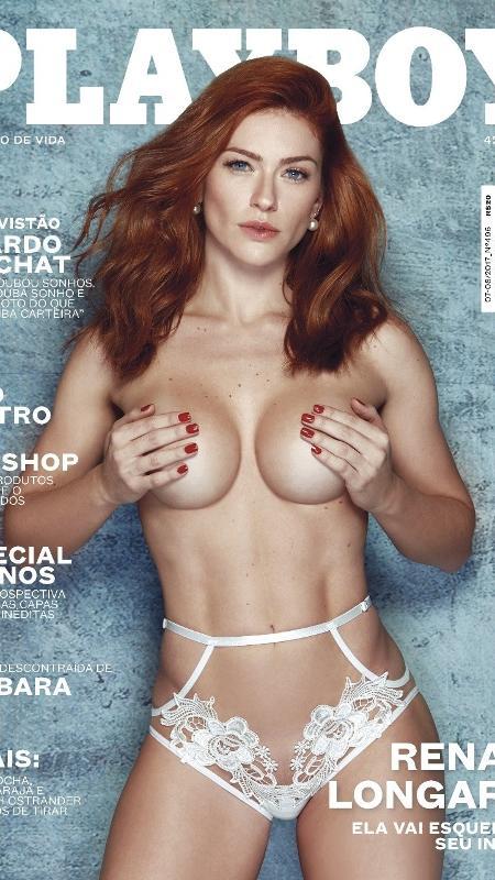 """Renata Longaray na capa da """"Playboy"""", que chegas às bancas em 15 de julho - Divulgação/Playboy"""