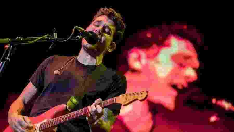Cantor John Mayer se apresenta no Allianz Parque, em São Paulo, em outubro - Simon Plestenjak/UOL
