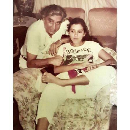 Regina Casé com o pai, Geraldo Casé - Reprpdução/Instagram