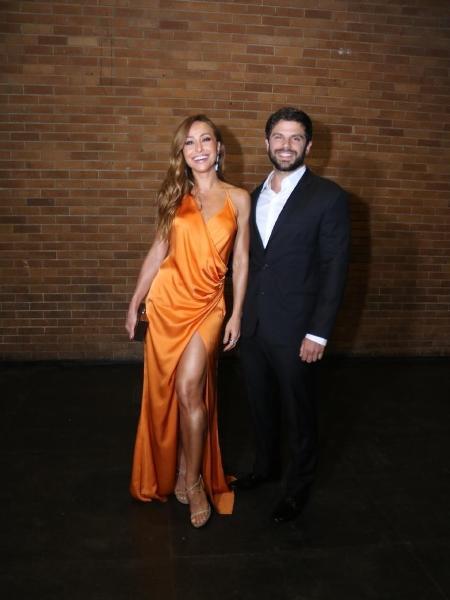 Sabrina Sato e Duda Nagle no casamento de Fábio Porchat e Nataly Mega - Agnews/Daniel Pinheiro