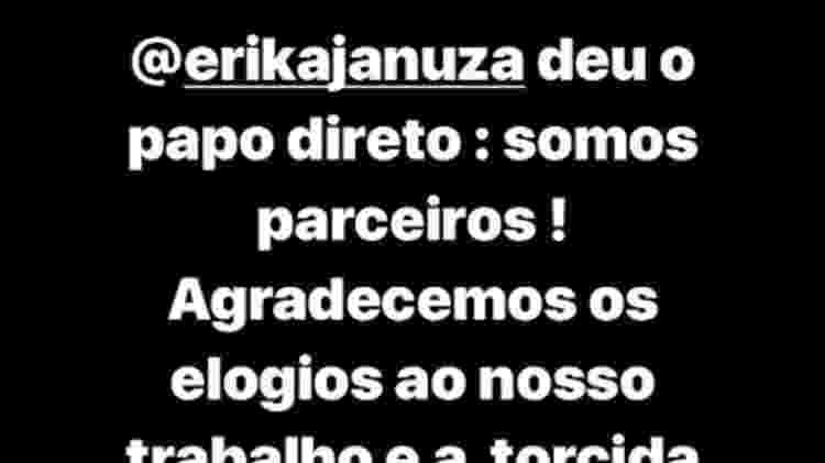 Caio Paduan nega namoro com Erika Januza - Reprodução/Instagram/caiopaduan - Reprodução/Instagram/caiopaduan